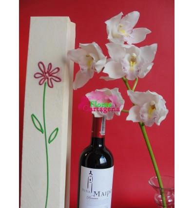 Orquidea y vino