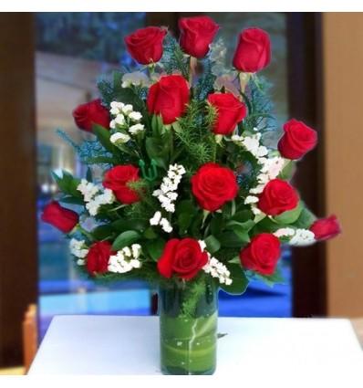 Rosas iluminantes