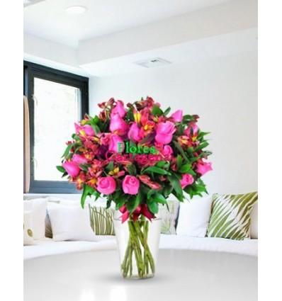 Rosas Rosadas Amor