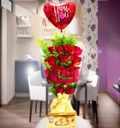 Ramillete de Rosas Love