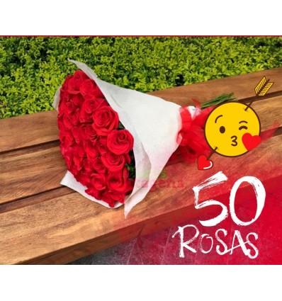 50 Rosas Bouquet