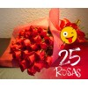 25 Rosas Bouquet